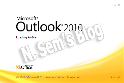 MS Outlook 2010
