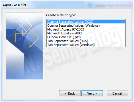 export pst to outlook express