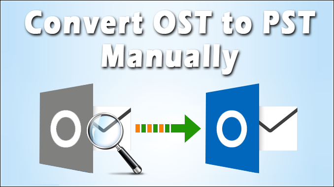 how to convert OST file to PST format