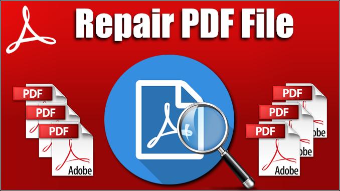 repair PDF file