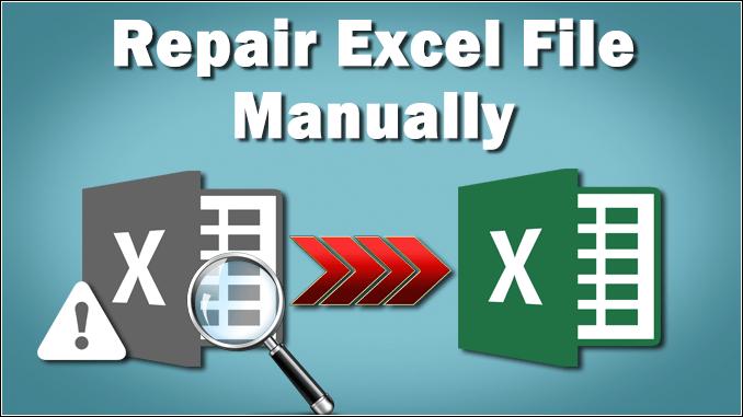 repair Excel file