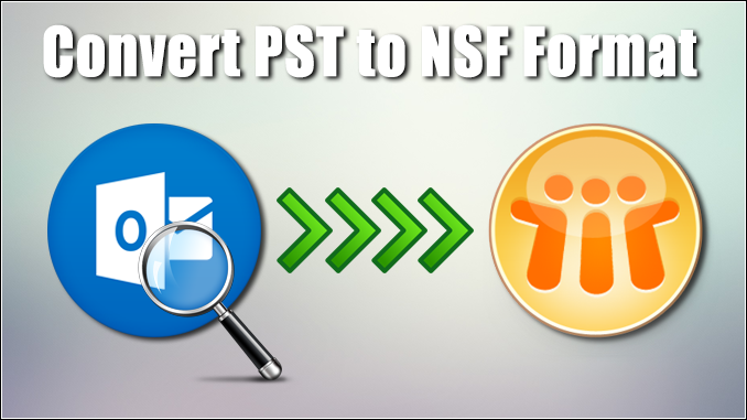 convert PST to NSF format