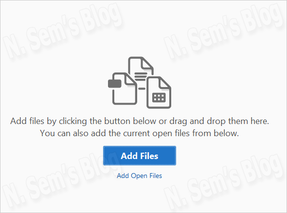 merge PDF files into a single file