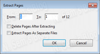 split PDF file into multiple parts