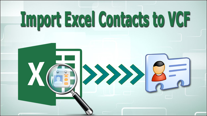 convert excel to vcard format
