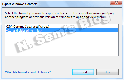 Excel to vCard Format - Import Excel Contacts to VCF