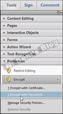 PDF Protection (step-3)