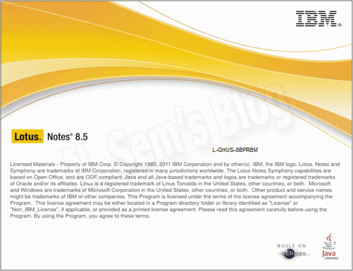 how to install Lotus notes