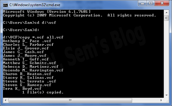 how to merge VCF files