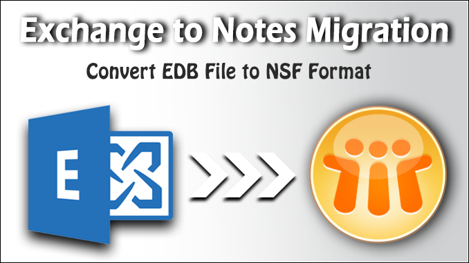 Exchange to Notes migration