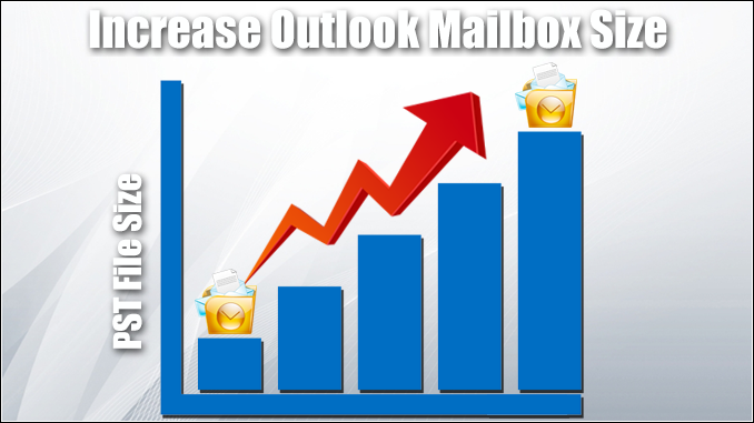 increase Outlook mailbox size