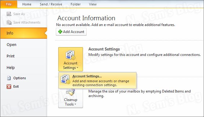 how to fix Outlook error 0x8004010f