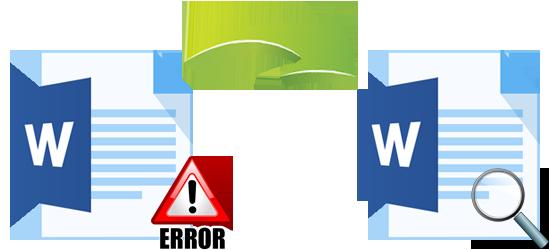 how to repair Word file