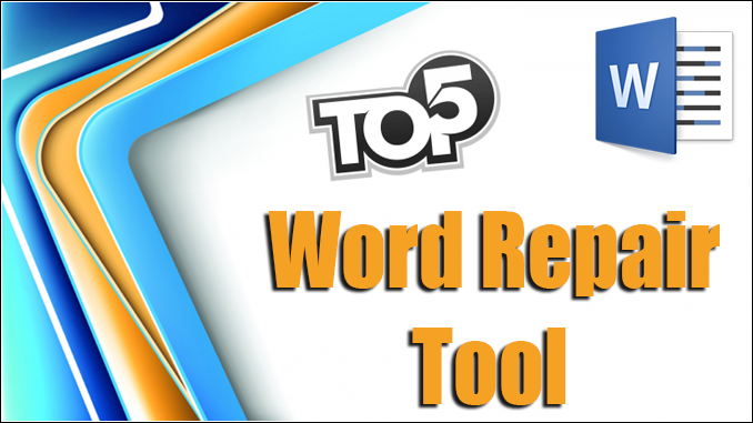 best Word repair tool