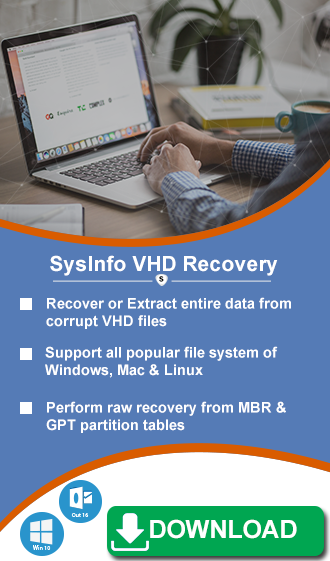 Repair VHD File Manually - Utmost Solutions for VHD Recovery