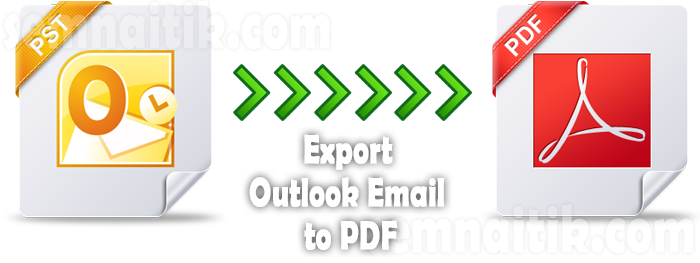 export Outlook email to PDF