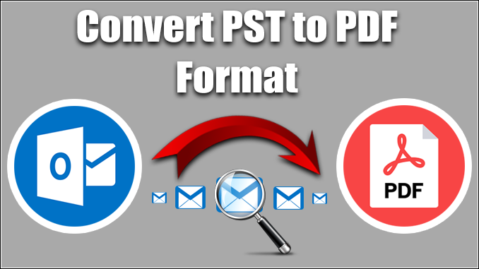 convert PST to PDF