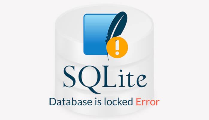 sqlite database is locked error code 5
