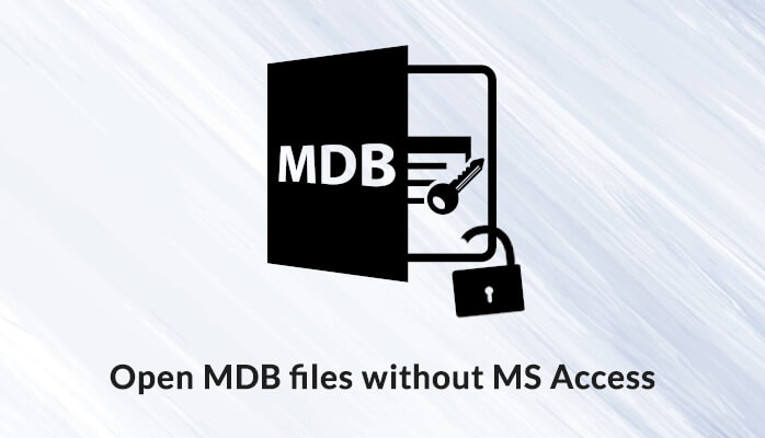 open mdb and accdb files without ms access
