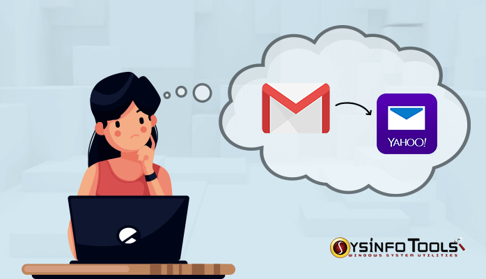 gmail to yahoo