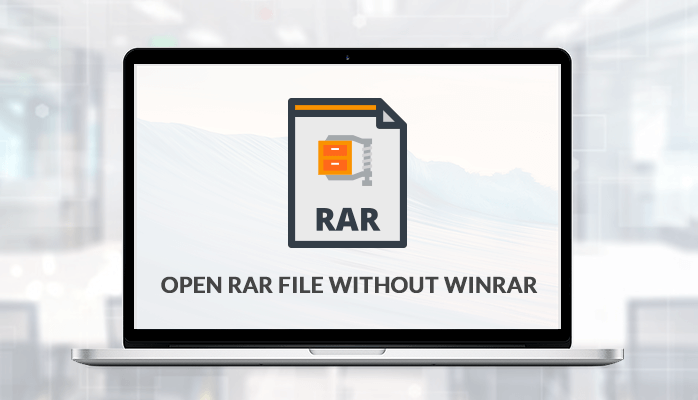 open rar file without winzip
