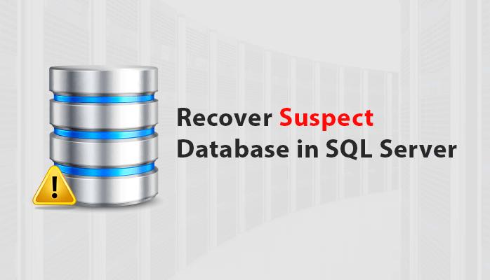 restore suspect sql database