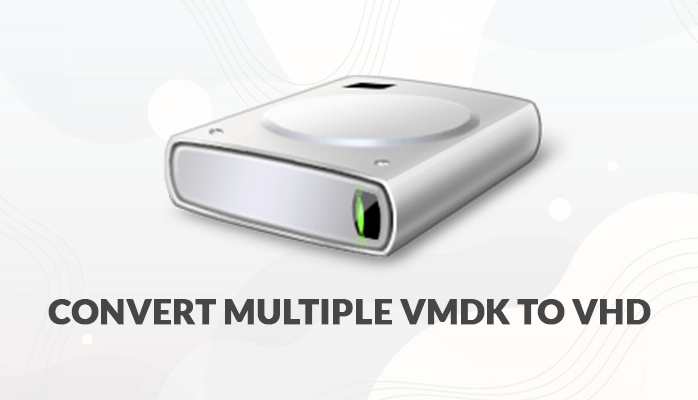 how to convert multiple VMDK to VHD