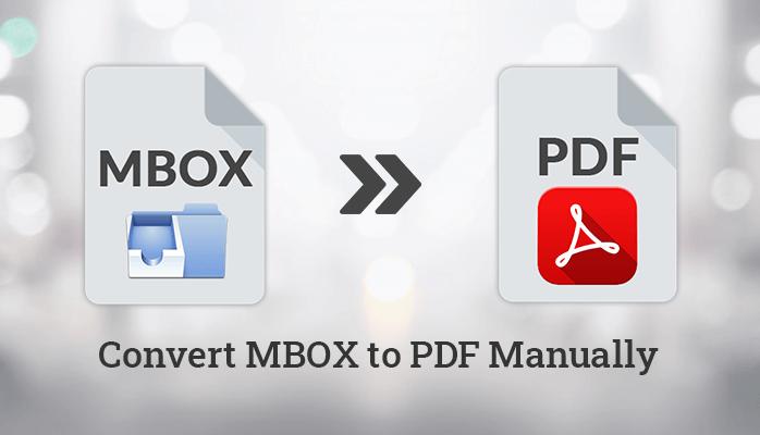 MBOX to PDF online