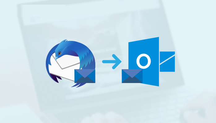 Thunderbird Email migration to outlook